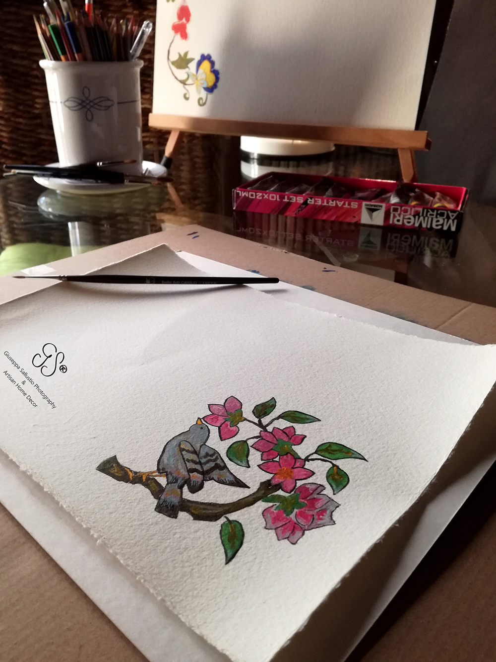 akvarell, aquarell, aquarelle, fine art paper, Hahnemühle